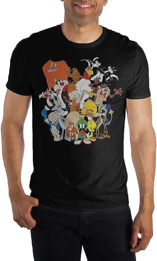 Looney Tunes Group Black T-Shirt