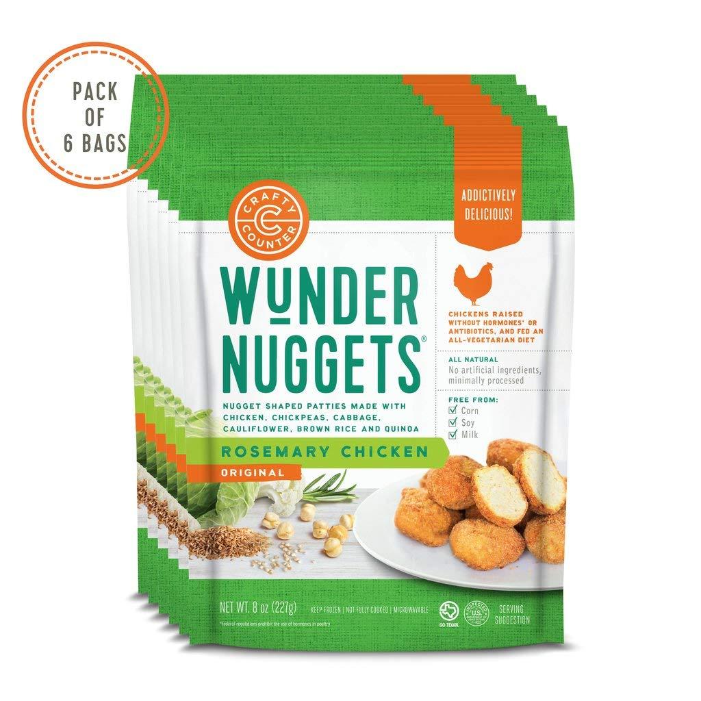 Pack Of 6 Bags- Original Rosemary Chicken Wundernuggets