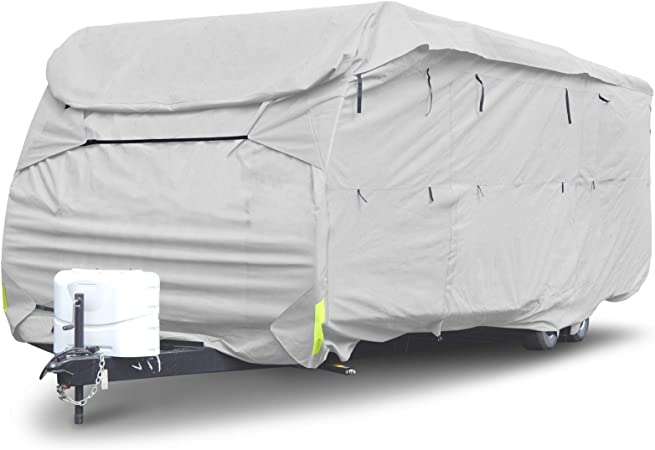 Budge Class A RV Cover Fits Class A RVs up to 33 Long Gray, Polypropylene