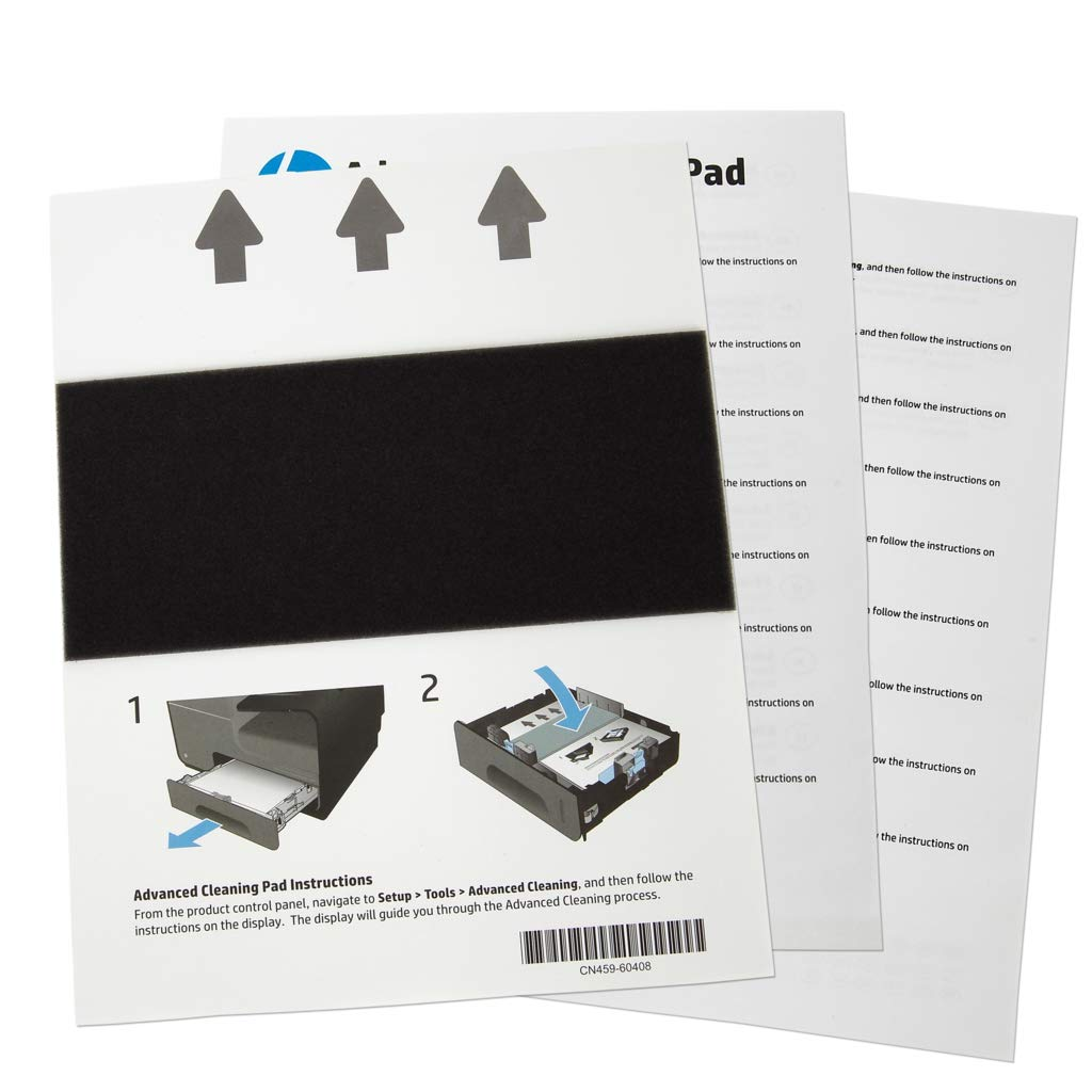 HP OEM HP OJ X476, X576 Advanced Cleaning Kit - Used for resolving Shim Whiskers Print Quality Issues