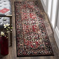 Safavieh Vintage Hamadan Collection VTH215A Red and Multi Runner (22 x 20)