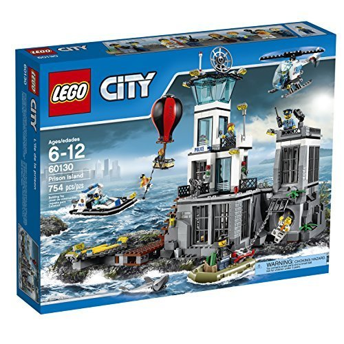 LEGO CITY Prison Island 60130 [並行輸入品]   B01K1V6GRI