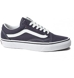 1a5bb85939 Vans Unisex Adults  Old Skool Low-Top Sneakers Blue