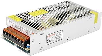 Versi/ón mejorada JoyNano Fuente de alimentaci/ón conmutada DC36V 10A Transformador convertidor AC-DC 360W para m/áquina de freno Automatizaci/ón CNC Motor paso a paso industrial y m/ás
