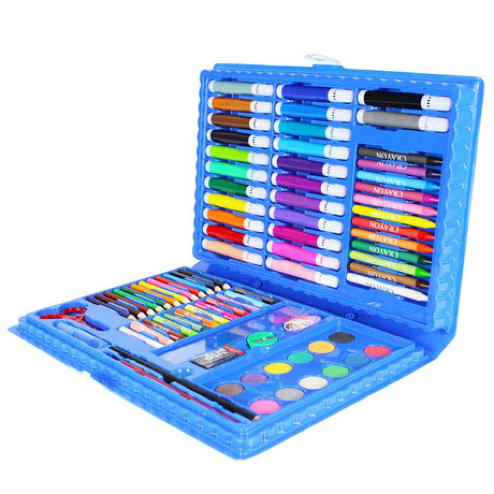 Art JKWL Set di Pittura per Bambini Set di 86 Pezzi d'Arte di Lusso, matite ad Acquerello con pastelli a Olio e matite Coloreate