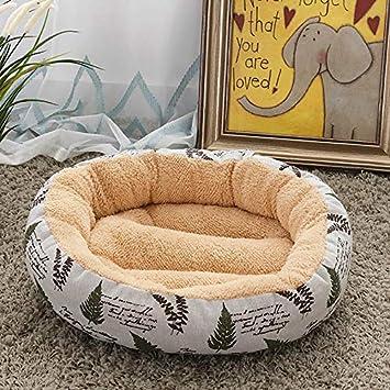 Amazon.com: Cama para mascotas redonda, camas para perros ...