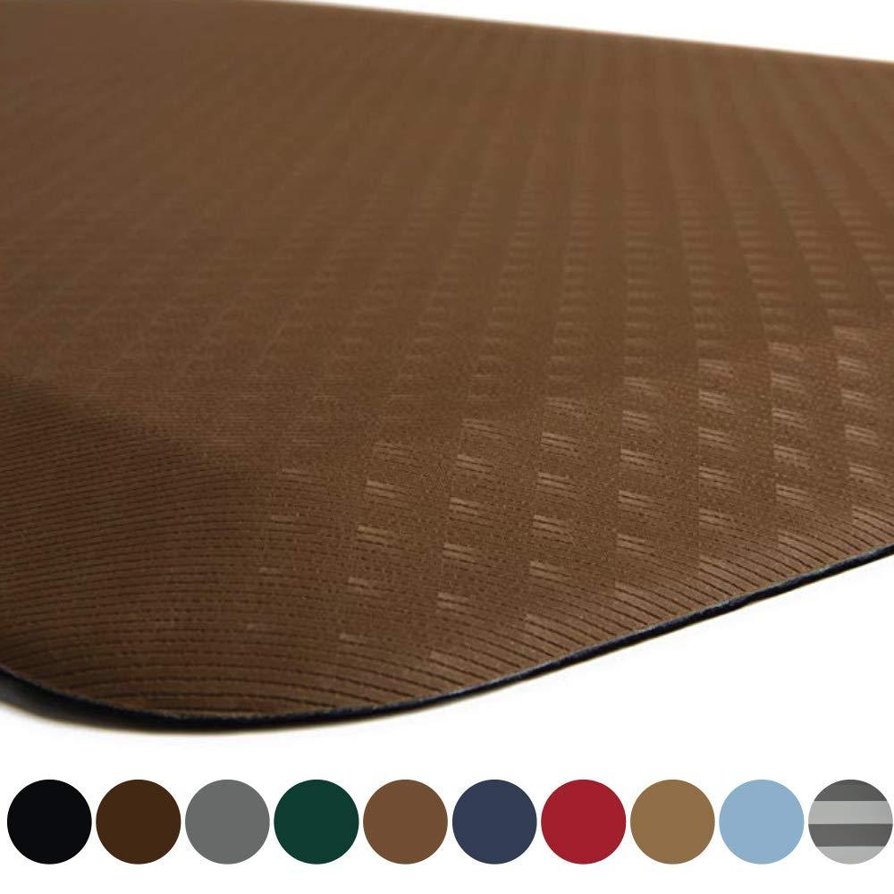 Kangaroo Original Standing Mat Kitchen Rug, Anti Fatigue Comfort Flooring, Phthalate Free, Commercial Grade Pads, Waterproof, Ergonomic Floor Pad for Office Stand Up Desk, 32x20, Mocha