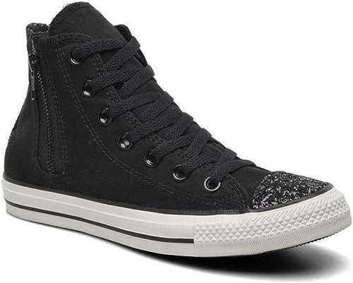 Converse , Damen Sneaker Schwarz schwarz: : Schuhe
