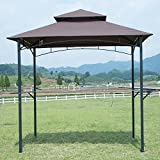 FDW 8'x 5'BBQ Grill Gazebo Barbecue Canopy BBQ Grill Tent w/Air Vent Review