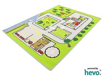 Feuerwehreinsatz 112 Hevo Spielteppich Kinderteppich 137x190cm
