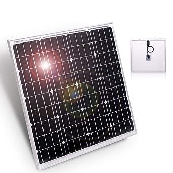 2x 30Watt 12V Solarmodul Solarpanel Solarzelle Monokristallin für Camping Garten