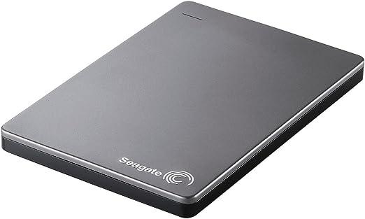 Seagate HDD ポータブル ハードディスク Backup Plus Slim USB3.0 500GB シルバー SGP-BP005USV