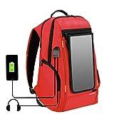 HAWEEL External Frame Backpack with 7 Watts Solar