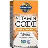 Garden of Life Vitamin C - Vitamin Code Raw C Vitamin Whole Food Supplement, Vegan, 60 Capsules *Packaging May Vary*