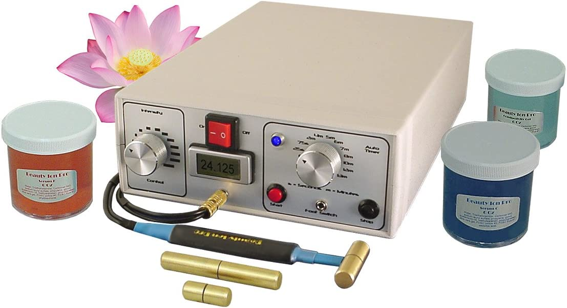Beauty Ion Pro Deluxe Anti-Aging Galvanic Skin Care System: Health & Personal Care