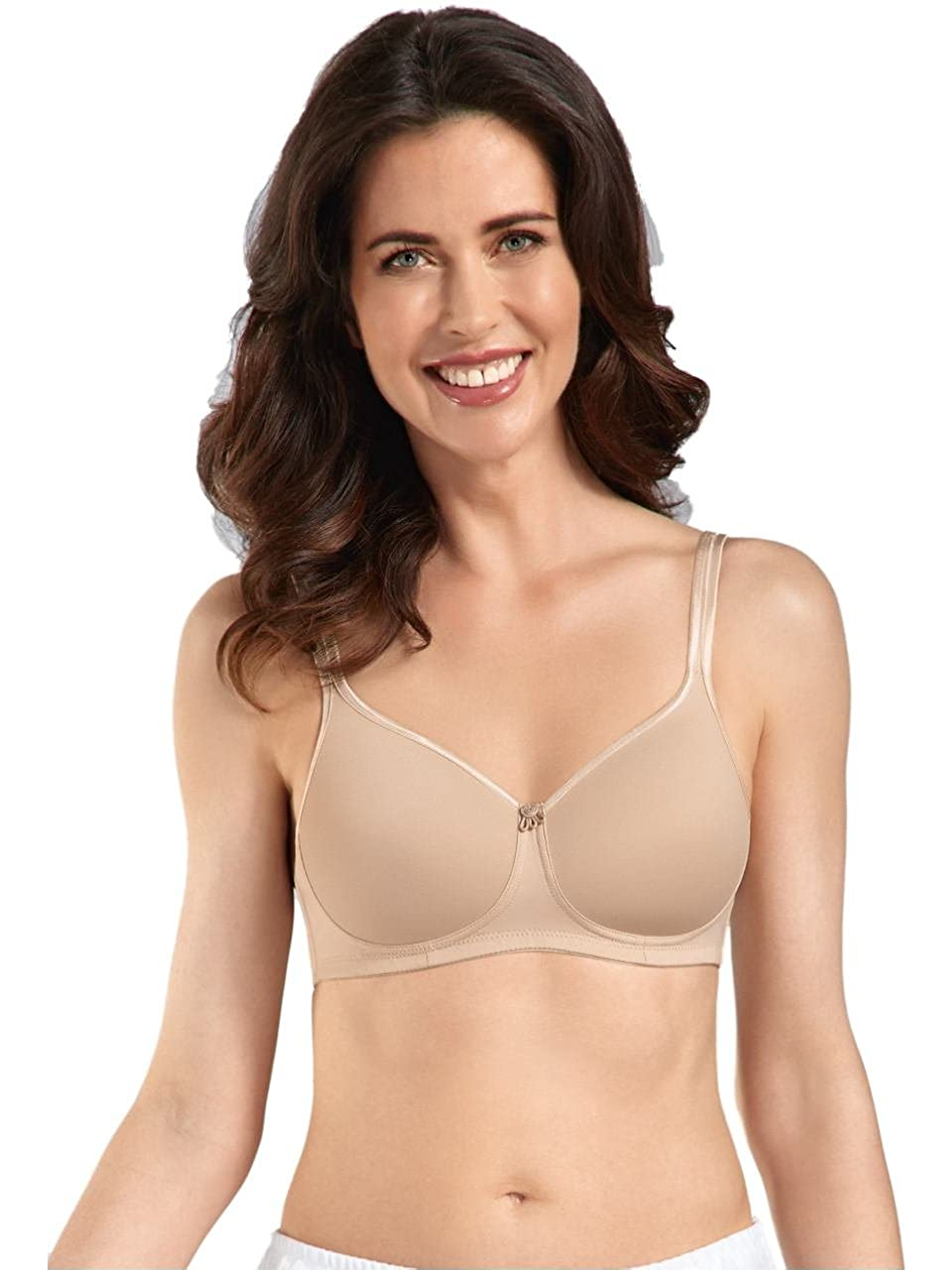 Amoena Pocketed Mastectomy Bra 'Mara' Nude Post Surgery Bra - 36C 1150-F