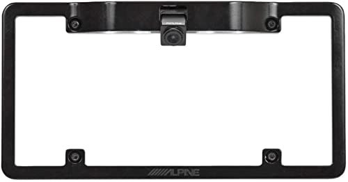ALPINE HCE-C1100 Rear View Backup HDR Car Camera w License Plate Mounting Kit