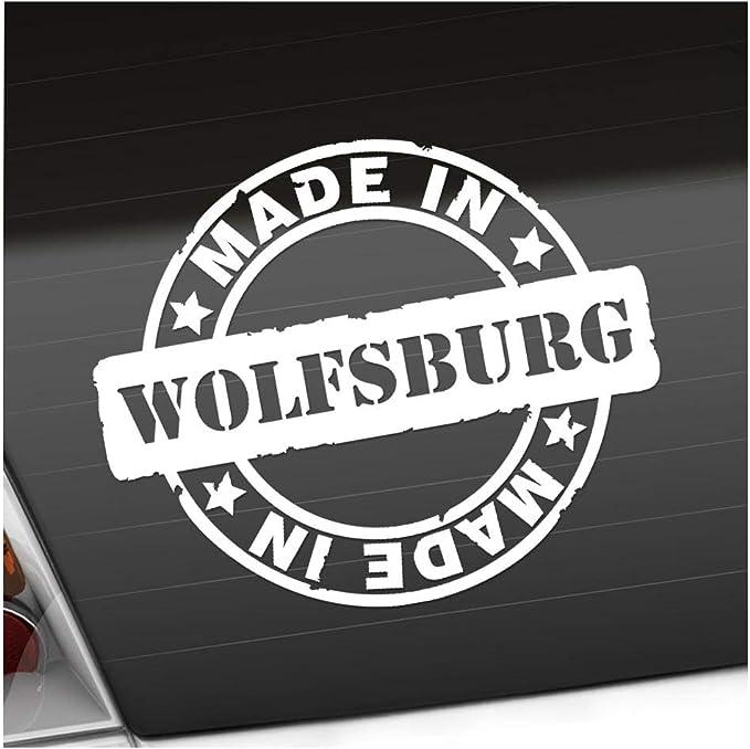 Kiwistar Made In Wolfsburg 12 X 10 Cm In 15 Farben Neon Chrom Sticker Aufkleber Auto