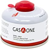 GasOne Camping Stove Fuel Blend Isobutane Efficient and High Output