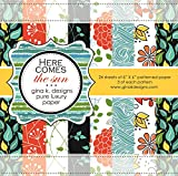 Gina K. Designs 6 X 6 Patterned Paper Pack - Here Comes the Sun
