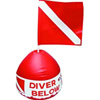 Innovative Scuba Concepts Red Buoy Float and Flag