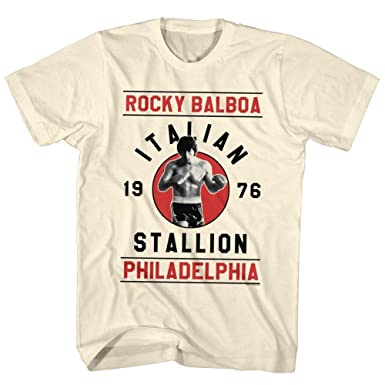 Rocky Men's Balboa T-Shirt Vintage White
