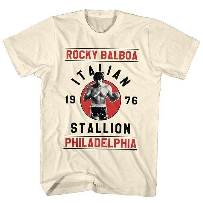 Amazon.com: Rocky Men's Balboa T-Shirt Vintage