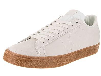 NIKE Men's SB Zoom Blazer Low Summit White/Summit White Skate Shoe 7.5 Men  US