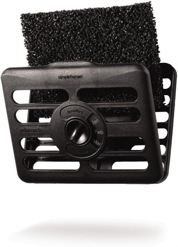 simplehuman Odorsorb Filter Kit, Natural Charcoal