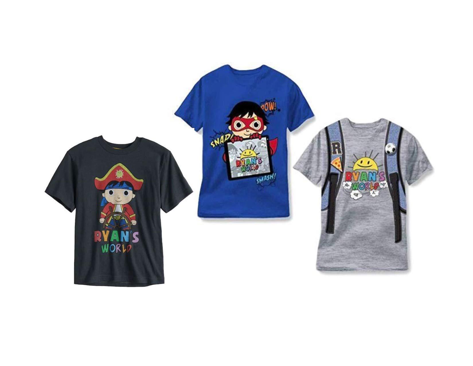 Ryan's World 3 Pack T Shirt Tee (4)