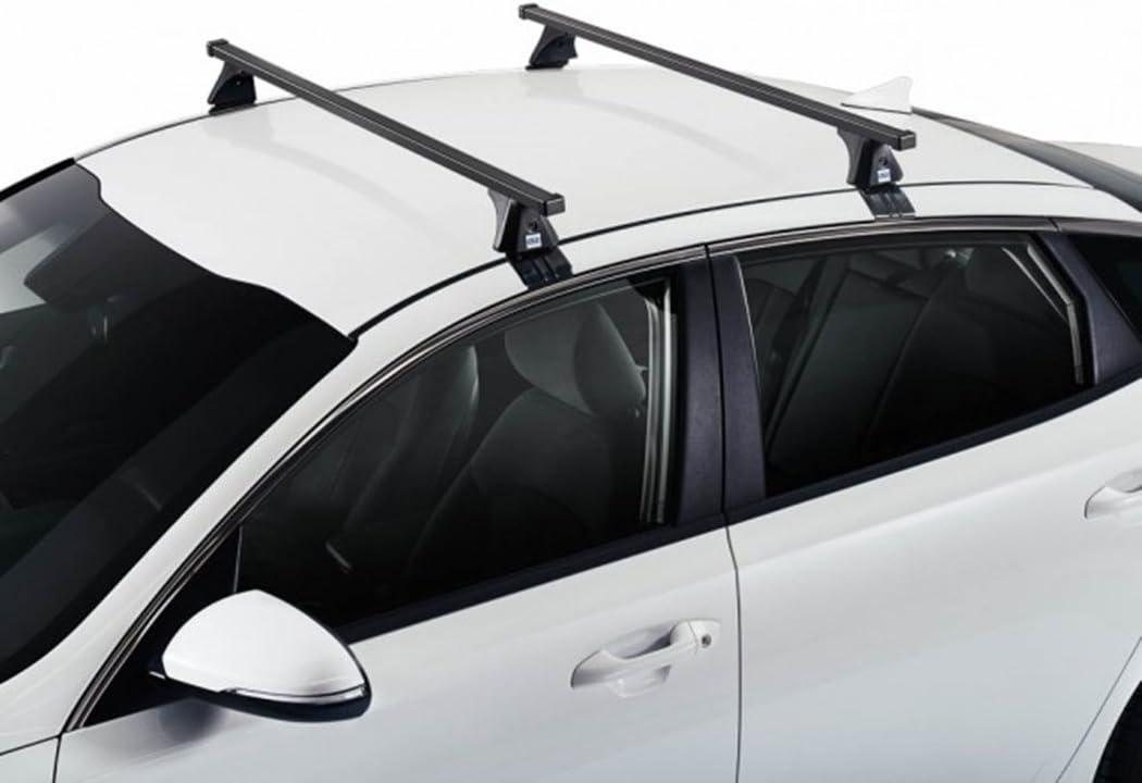 Cruz Kompatibel mit Honda Accord 8 Fahrzeugspezifischer Stahl Dachtr/äger