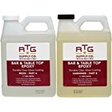 RTG Bar & Table Top Epoxy Resin for Bars Countertops Furniture and Tables (2-Quart Kit)