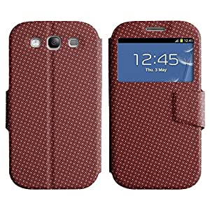 LEOCASE patrón increíble Funda Carcasa Cuero Tapa Case Para Samsung Galaxy S3 I9300 No.1005192