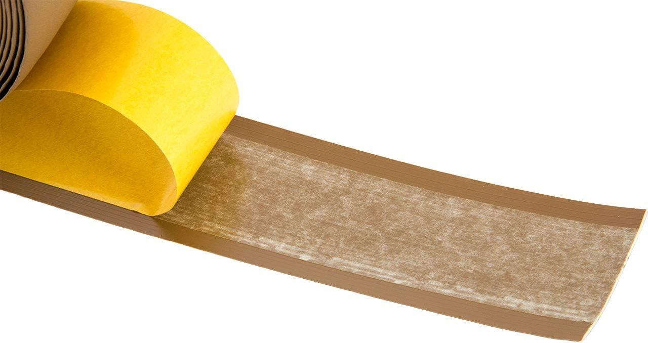 Winkelleiste aus Kunststoff Sockelleiste f/ür Laminat Abschlussleiste f/ür Boden und Wand Parkett und Vinyl 25m Rolle Weichsockelleiste selbstklebend