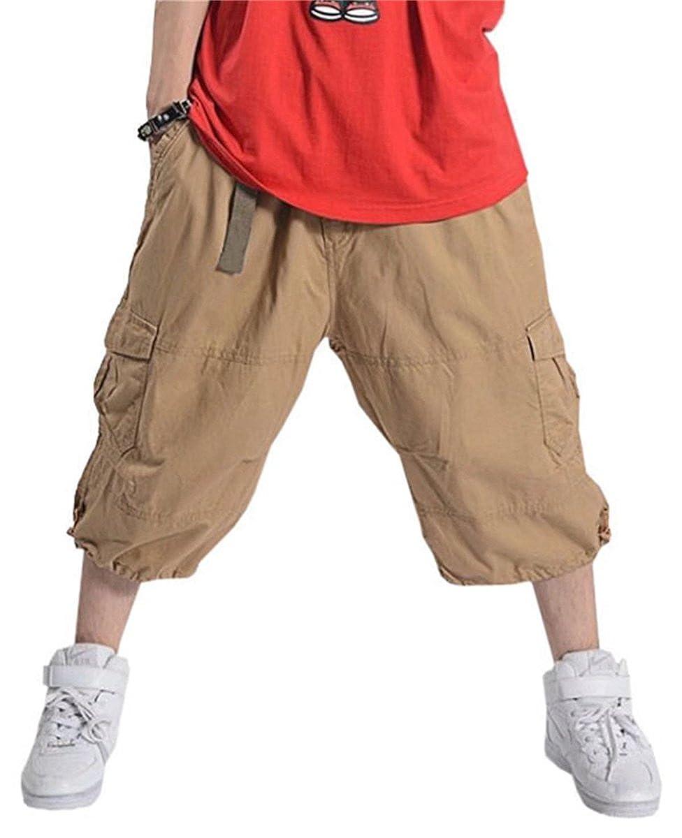 DanTile Men's Capri Cargo Shorts