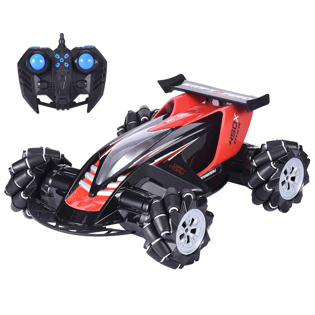 Rigel7 Z108 2.4G 1/10 4CH 4WD Remote Control Car Off-Road RC Car Stunt Tire Lateral Drift Racing Vehicle RTR Gift for Boys Girls Kids by Rigel7