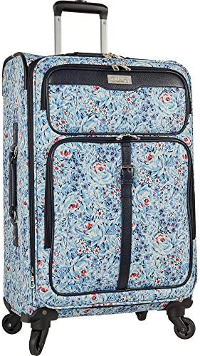 Chaps 28 Expandable Spinner Luggage, Floral
