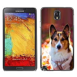 Vortex Accessory Carcasa Protectora Para Samsung Note 3 N9000 N9002 N9005 - Corgi Rembroke Welsh Cardigan Dog -