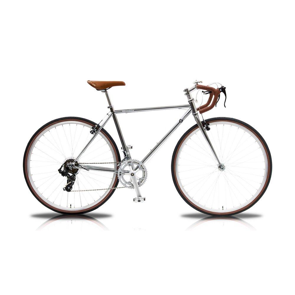 WACHSEN(ヴァクセン) 700Cクロモリロードバイク14段変速 Spark(スパーク) WBR-7001 B07281H6XSSV(シルバー)