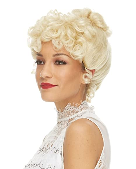 Vintage Hair Accessories: Combs, Headbands, Flowers, Scarf, Wigs Womens Gibson Girl Costume Wig $39.99 AT vintagedancer.com