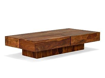 Table Laqué 70 Cm Cube Palissandre Massivum Basse Marron 30 X 140 srtdCoBhQx