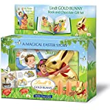 Lindt Gold Bunny Milk Chocolate with Story Book, 3.5 Ounce (Pack of 4)