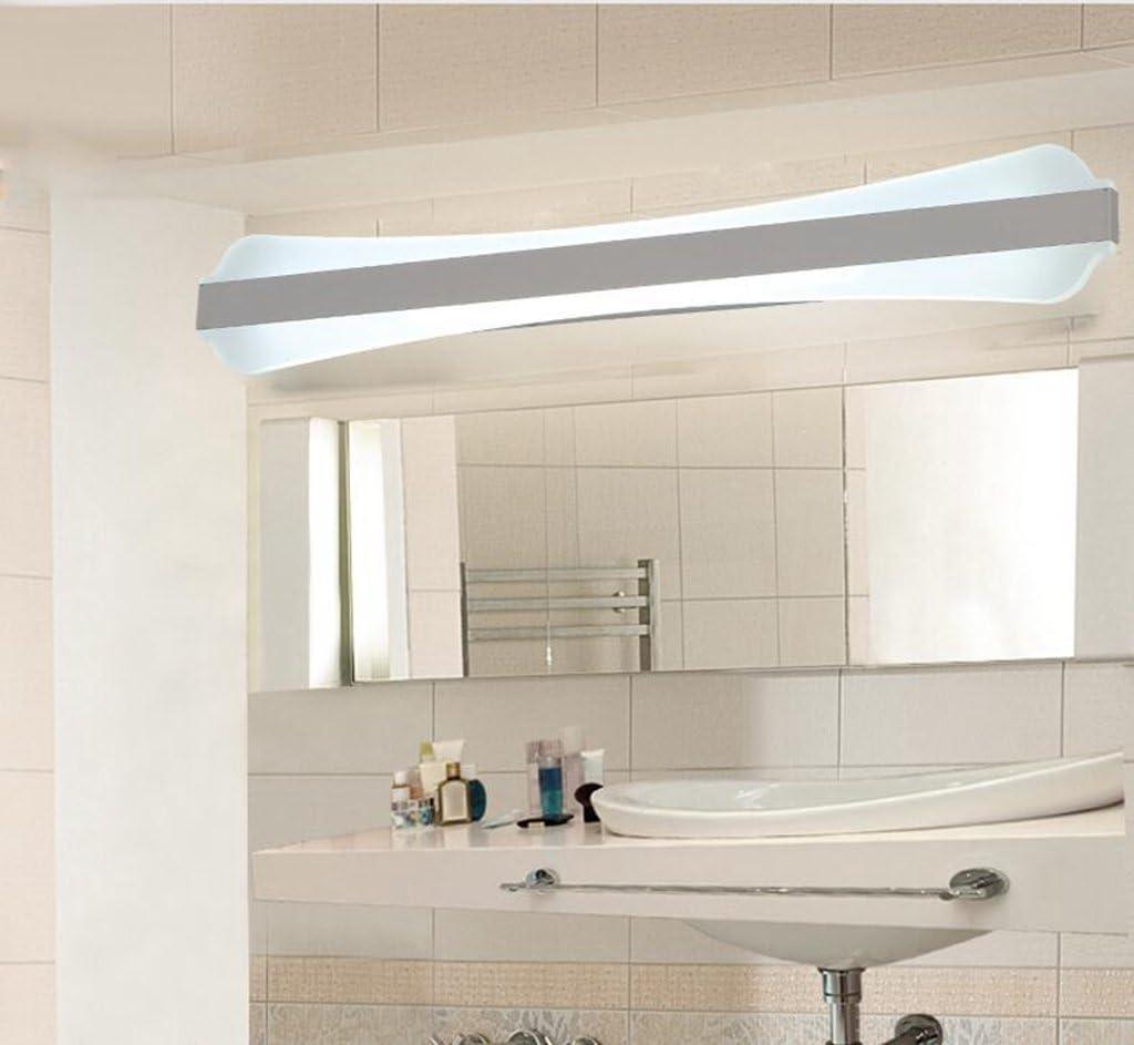 San Tai@LED Spiegelleuchte,Schranklampe Badlampe,Badleuchte Wandleuchte,Wand Spiegellampe,Beleuchtung mit Schalter,E27/E14,Leuchtmittel Typ:LED Lichter,Material:Acryl,Größe:42cm 42cm
