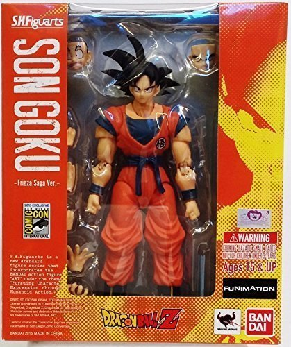 SDCC 2015 Comic Con SH Figuarts Dragon Ball Z Goku - Frieza Saga Version by Bandai