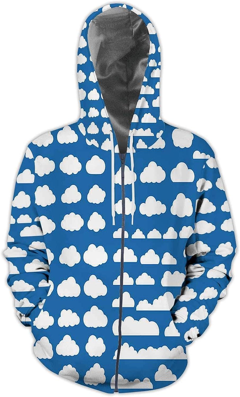 Vernon British Colorful Zen-Like,Mens Print 3D Fashion Hoodies Sweatshirts Lake S