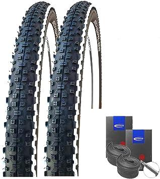Schwalbe Rapid Rob White Stripes - Juego de 2 neumáticos para Bicicleta de montaña (29 x 2,25