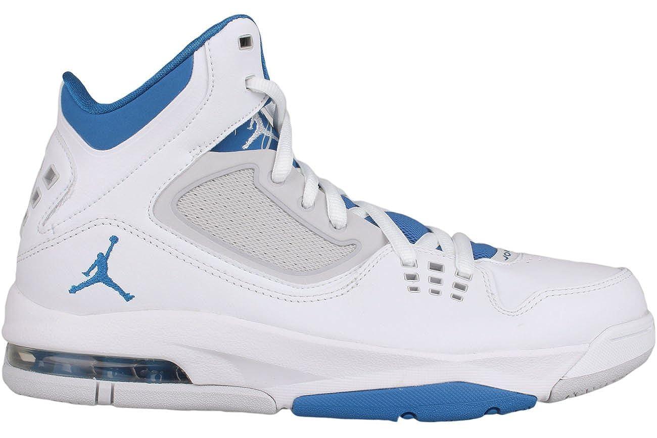39c07611746 Amazon.com   Jordan Air Flight 23 RST White Neutral Grey Military Blue Mens  Basketball (9)   Shoes