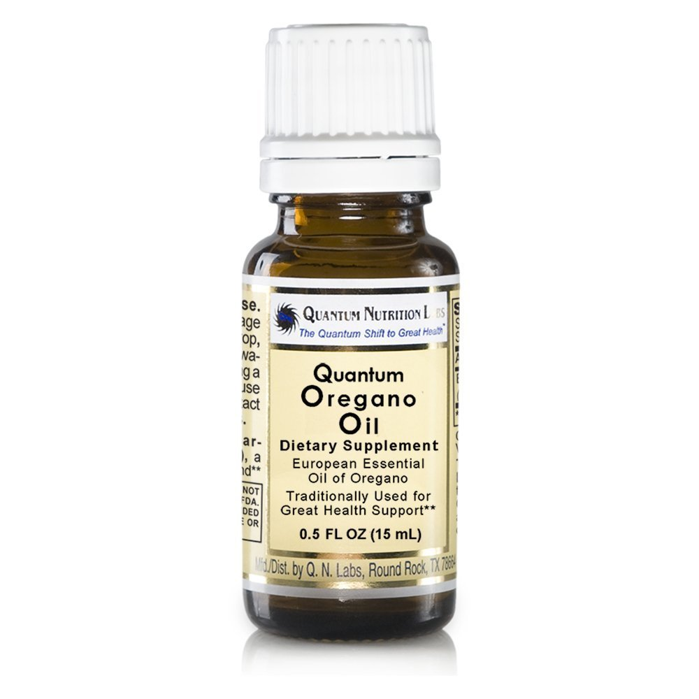 Quantum Oregano Oil, 664 Servings 4 Bottles - European Essential Premier Oregano Oil Traditionally Used for Great Health Support