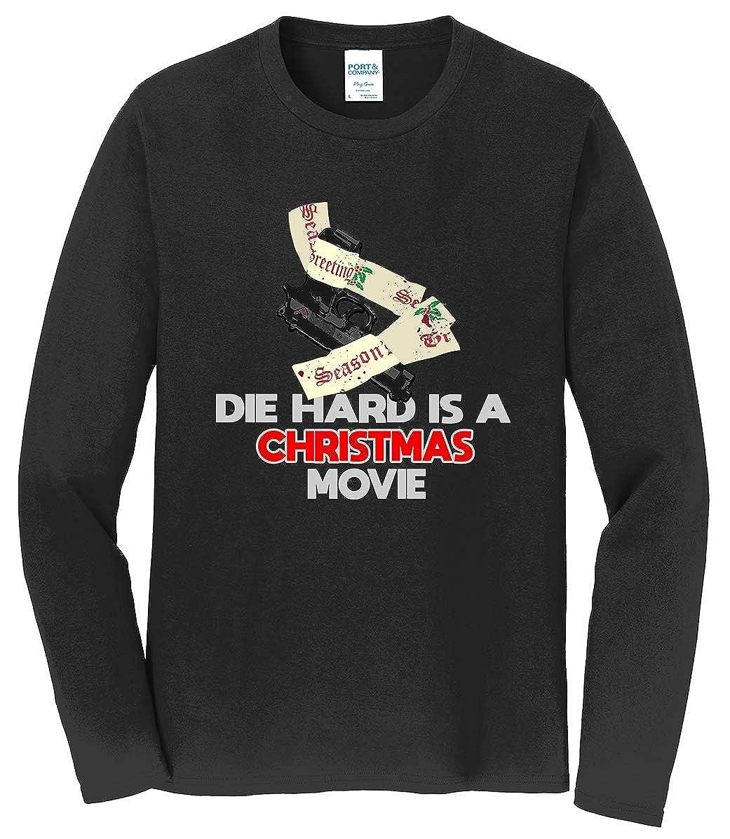 Tenacitee Men's Die Hard is a Christmas Movie T-Shirt
