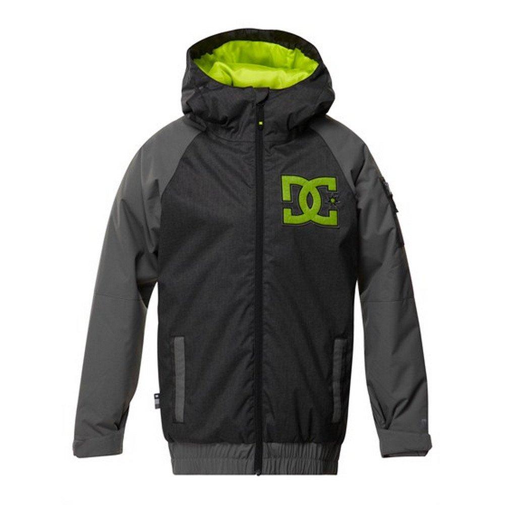 DC Apparel Big Boys' Troop Snow Jacket, Caviar, 14 by DC Apparel